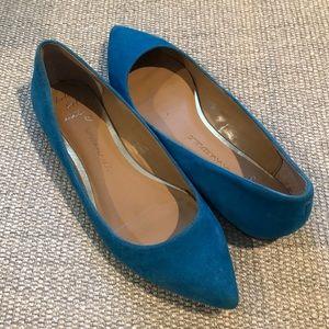 Banana Republic Blue Flats